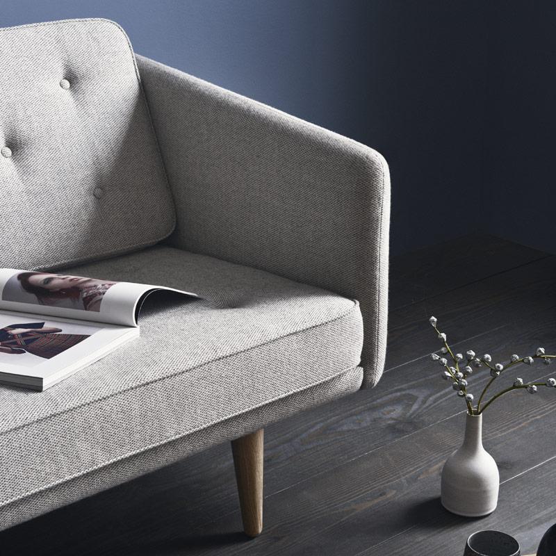 No.1 sofa af Børge Mogensen