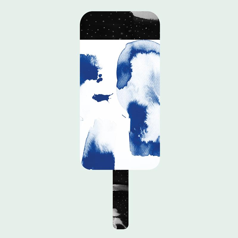 Blueberry poster af Nynne Rosenvinge