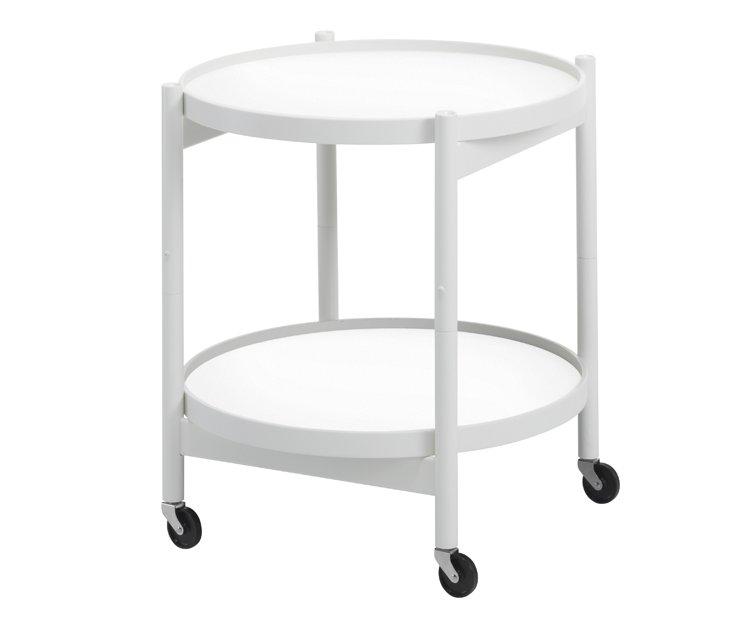 Tidssvarende Bøllinge bakkebord (Hvid) - Køb det her - FRI FRAGT MT-88
