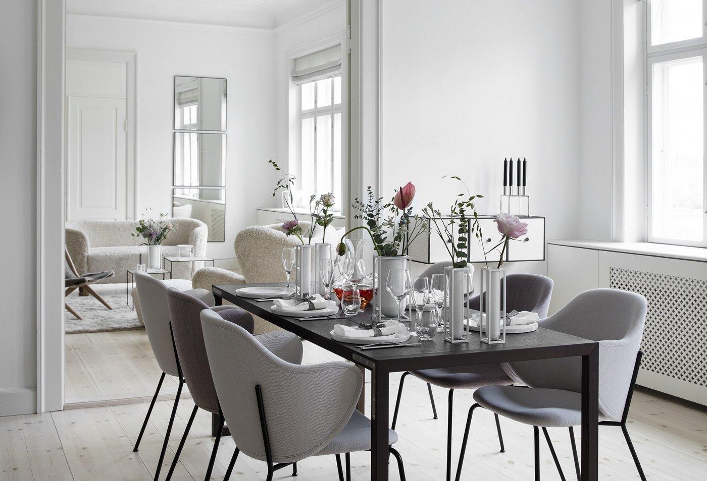 kubus flora vase fra by lassen k b den her. Black Bedroom Furniture Sets. Home Design Ideas
