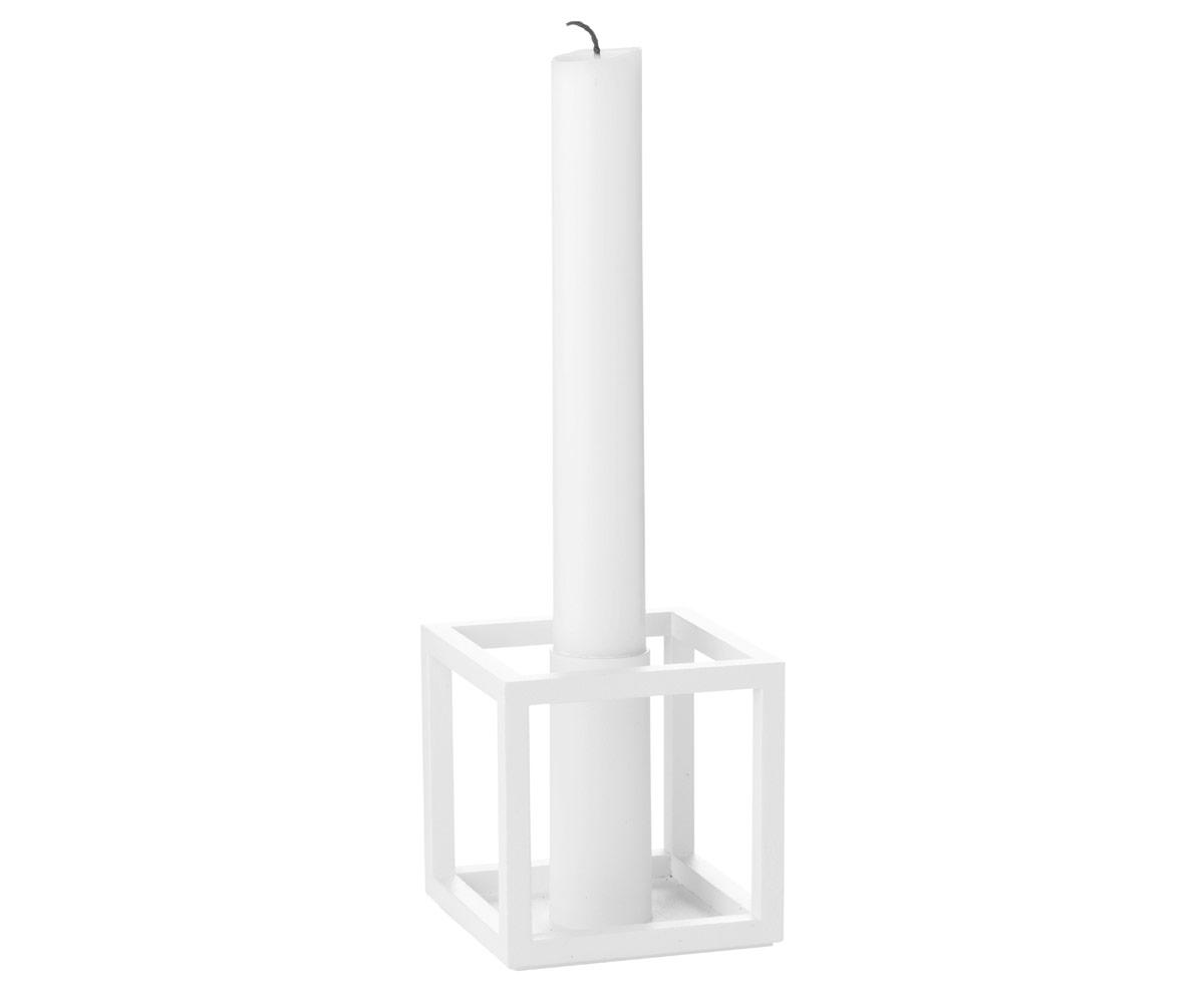 kubus 1 lysestage fra by lassen k b den her. Black Bedroom Furniture Sets. Home Design Ideas