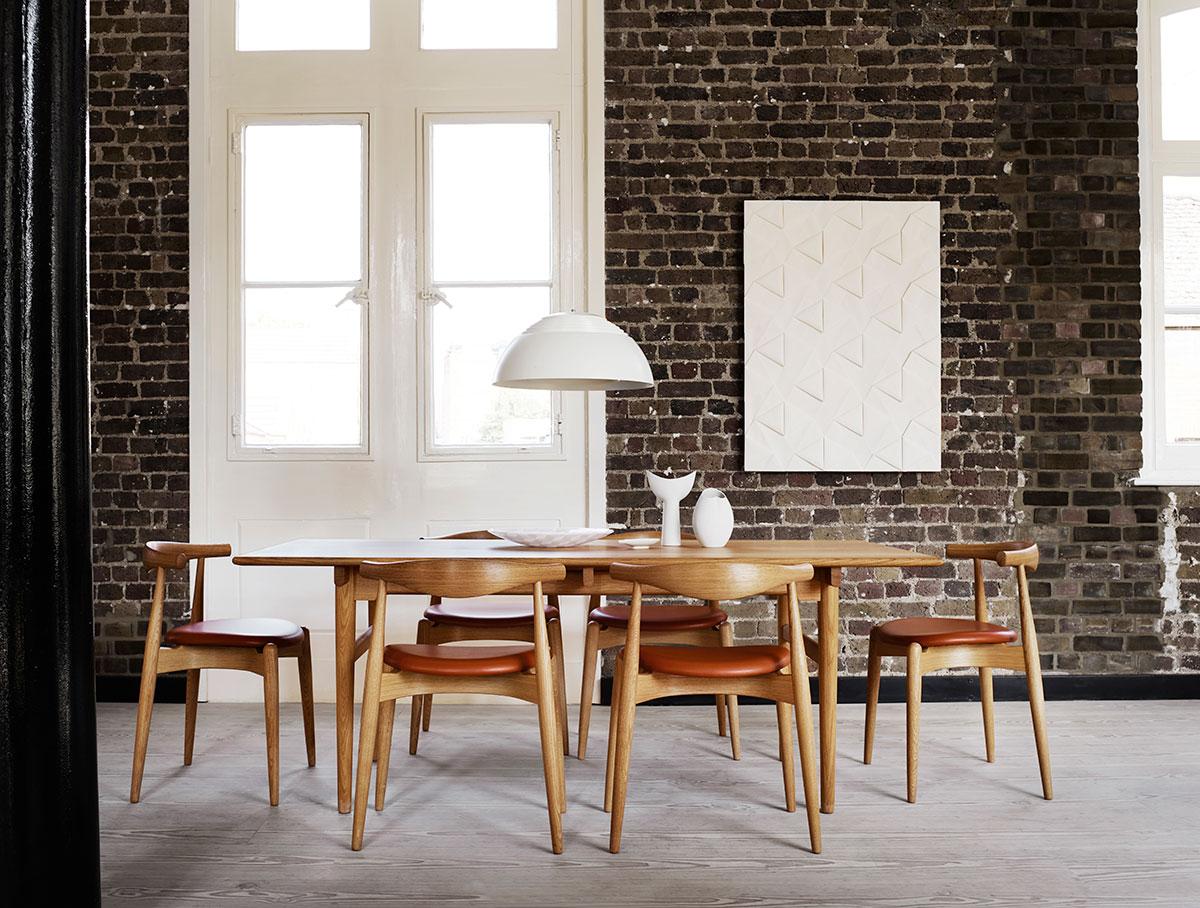 CH327 spisebord af Hans J. Wegner - Køb det her - FRI FRAGT