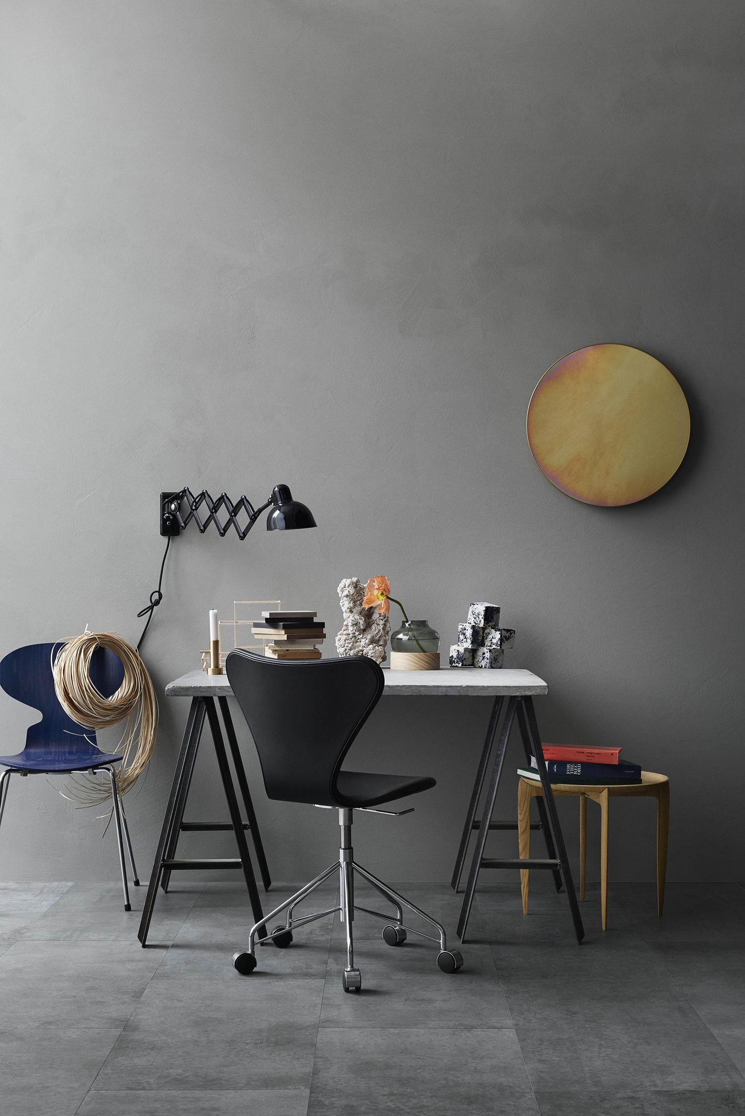 3117 syveren kontorstol med fuldpolstring k b den her. Black Bedroom Furniture Sets. Home Design Ideas