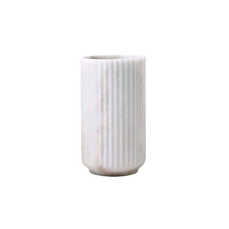 Lyngby vase i marmor fra Lyngby by Hifling - Køb den her!